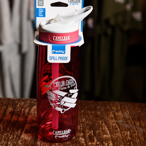 Pink Wild Ace Camelbak bottle