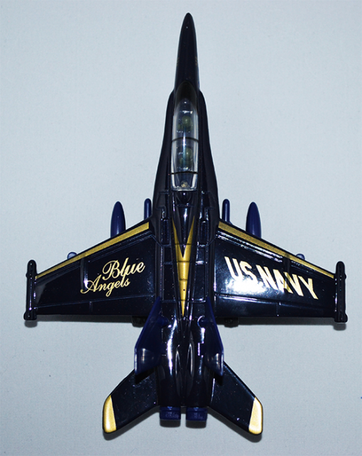 Diecast pullback plane toy.