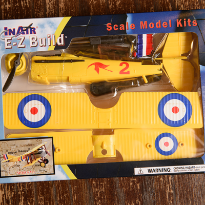 Ez Build Spad scale model.