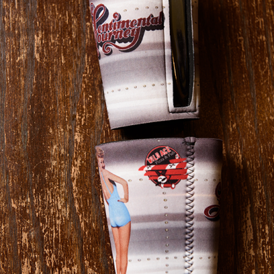 Pin Up koozie