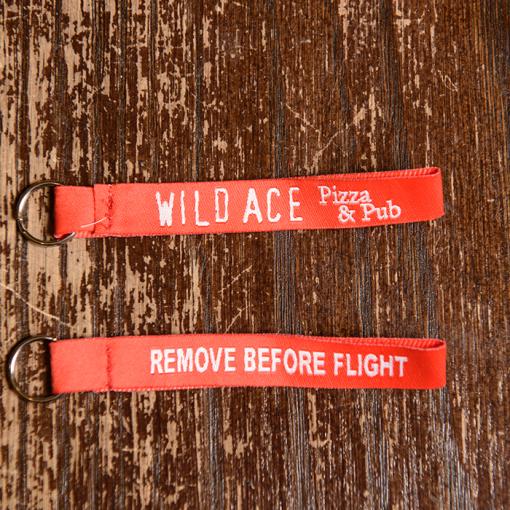 Wild Ace Keychain